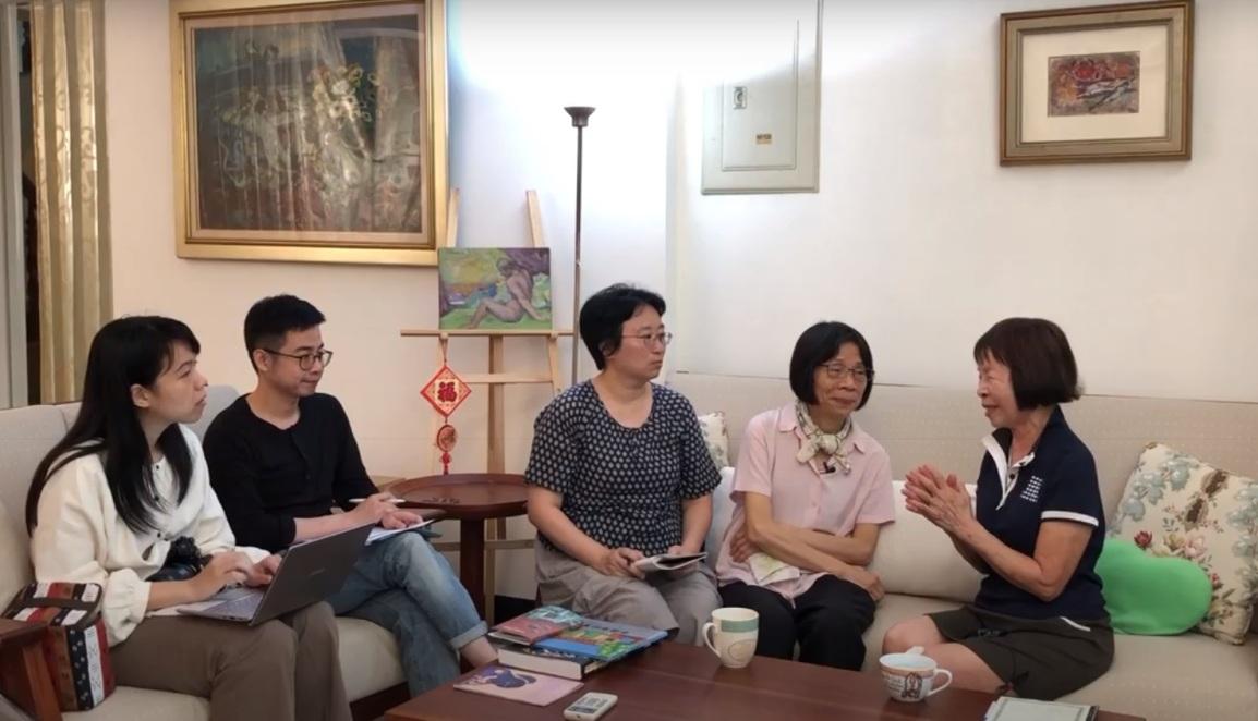 龔玉葉女士訪談(台南)20190525_涂寬裕攝影翻拍